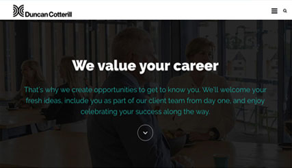 Duncan Cotterill - Careers Site