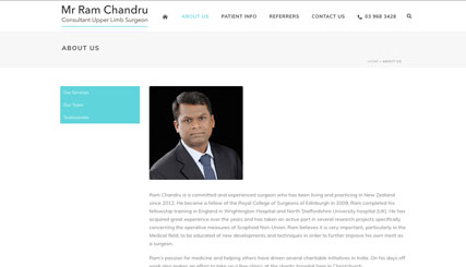 Ram Chandru - Upper Limb Surgeon