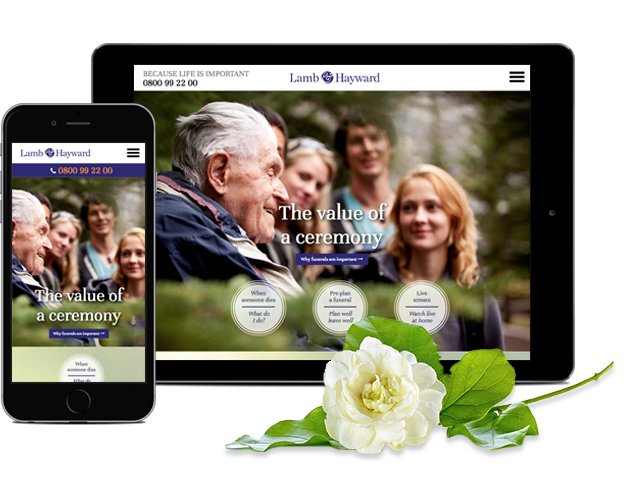 Limelight Online Christchurch Website Design