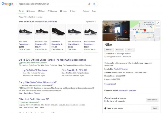 nike shoes google search