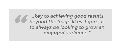 Achieving good results beyond page likes
